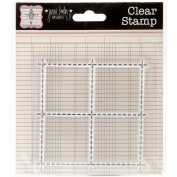 Acrylic Stamps 7.6cm x 7.6cm -Perf Marks