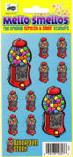 Gumball Machine Bubblegum Scent Scratch and Smell Scrapbook Stickers