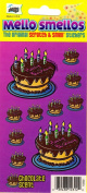 Birthday Cake Chocolate Scent Scratch and Smell Scrapbook Stickers