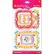 American Girl Crafts Photo Frame Pillow Stickers