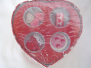 Valentine's Day Arts & Crafts Box ; Candy Hearts, Ribbon, Stickers