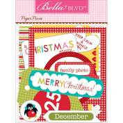Christmas Countdown Paper Pieces Cardstock Die-Cuts-
