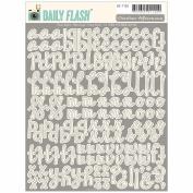 Daily Flash Vol. 2 Alpha Stickers-Shop Front Meringue