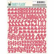 Daily Flash Vol. 2 Alpha Stickers-Shop Front Rhubarb