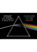PINK FLOYD DARK SIDE GLITTER STICKER