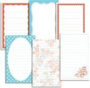 Jenni Bowlin Journaling Cards - Tangerine Dream