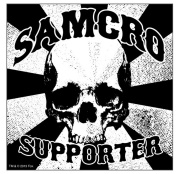 Sons Of Anarchy Samcro Supporter Sticker