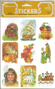 Thanksgiving Scrapbook Stickers