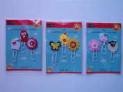 Studio18 Decorative Clips, 3 Packs