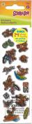 Scooby Doo Sports Mini Sparkle Scrapbook Stickers
