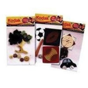 Kodak Dimensional Self Adhesive Stickers - CD Player Assortment