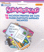 Vacation Printed Diecuts for Scrapbooking