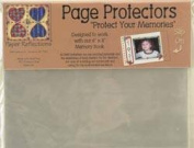 DMD Paper Reflections Page Protectors (15cm x 20cm ) Side Load Slip On, 10/Pkg.