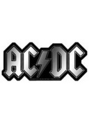 ACDC LOGO CHROME STICKER
