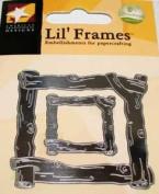 Silver Twig Frame Lil' Frames for Scrapbooking