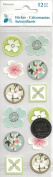 Bloom Seals Scrapbook Stickers