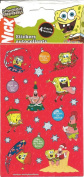 Spongebob Squarepants Christmas Theme Scrapbook Stickers