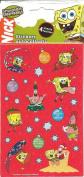 Spongebob Squarepants Christmas Theme Scrapbook Stickers