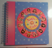 Astro Girls Spiralbound 20cm x 20cm Scrapbook