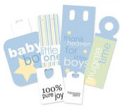 Pebbles IKanDee Market Tags-Baby Blue