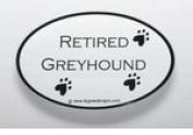 Retired Greyhound Sticker