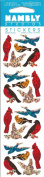 Mini Birds Sparkle Scrapbook Stickers