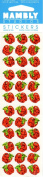 Micro Apples Sparkle Scrapbook Stickers