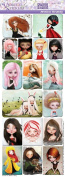 Violette Stickers Jessica Grundy Portraits
