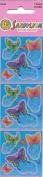 Butterflies Butterfly Shiny Foil Scrapbook Stickers