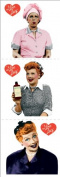 Paper House Stickers 5.1cm x 5.1cm 6/Pkg-I Love Lucy; 6 Items/Order