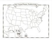 Blank U.S.A. Map