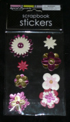 SPECIAL MOMENTS FLOWERS SCRAPBOOK STICKERS