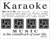 Karaoke Say It with Stickers Scrapbook Stickers