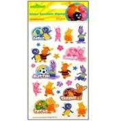 EK Nickelodeon Sticker Backyardigans