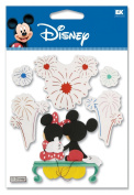 Disney Fireworks Mickey Dimensional Sticker