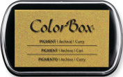 ColorBox Classic Pigment Ink Pad, Full Size, Curry