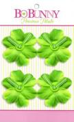 Bo Bunny Precious Petals Fabric Flowers-Limeade Blossom