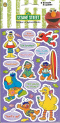 Sesame Street Beach Theme Scrapbook Stickers