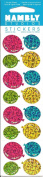 Mini Balloons Sparkle Scrapbook Stickers
