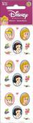 Disney Princess Oval Scrapbook Stickers