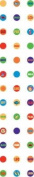 Beach Microdots Paper Treats Epoxy Scrapbook Stickers