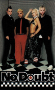 No Doubt Cheque It Band Photo Sticker