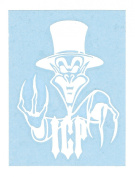 Insane Clown Posse Ringmaster Logo Rub-On Sticker WHITE