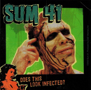 Sum 41 Does This Look Infected. Sticker