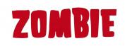 Rob Zombie Band Logo Rub-On Sticker RED
