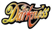 The Darkness Rainbow Band Logo Sticker