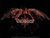 Godsmack Wings Logo Sticker
