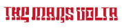 Mars Volta Logo Rub-On Sticker RED