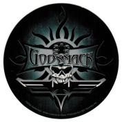 Godsmack Skull Round Sticker