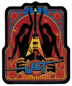 Jet Band Photo Guitar Sticker